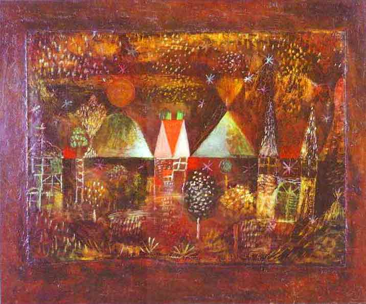 Nocturnal Festivity painting - Paul Klee Nocturnal Festivity art painting