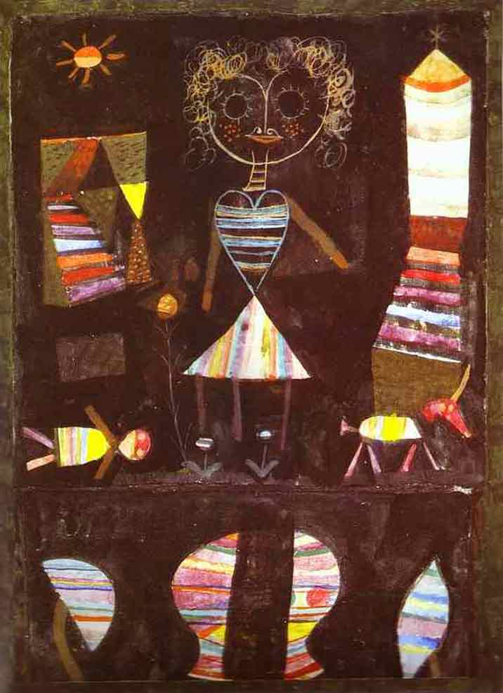 Paul Klee Puppet Theater Art Painting