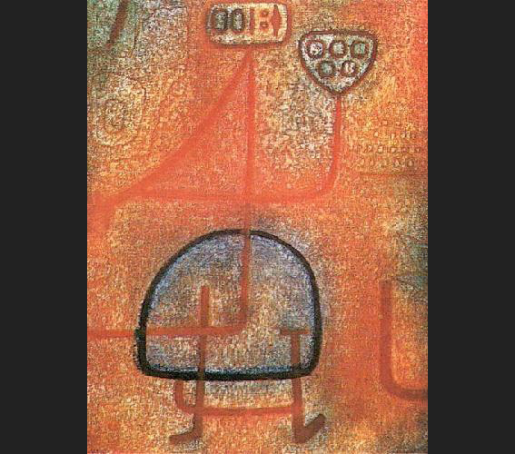 The Pretty Gardener painting - Paul Klee The Pretty Gardener art painting