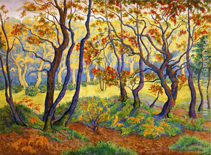 Paul Ranson Edge of the Forest Art Painting