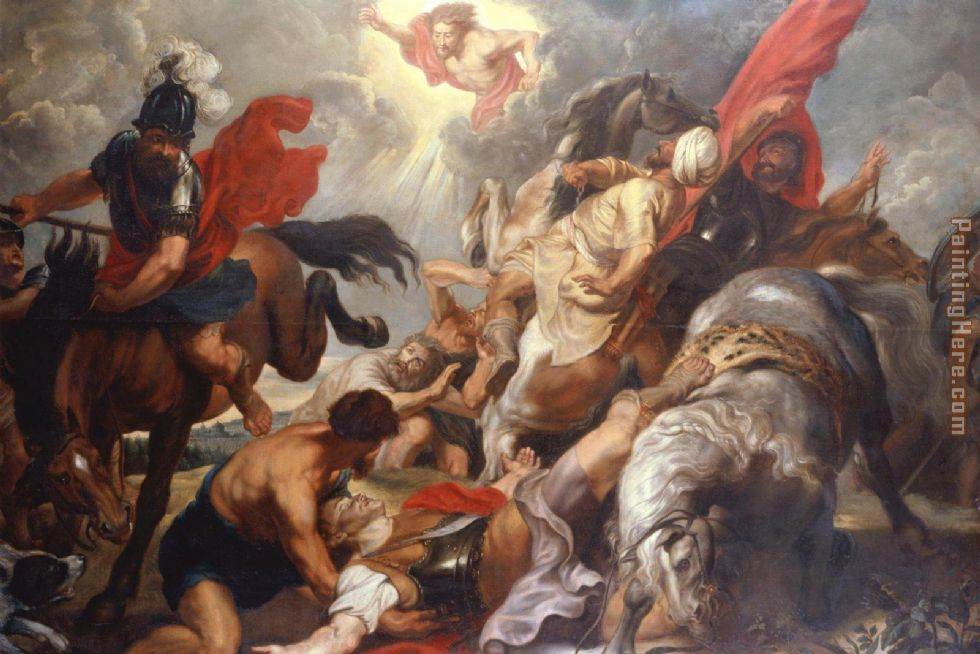 The Conversion of St. Paul painting - Peter Paul Rubens The Conversion of St. Paul art painting