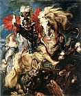 St George Dragon Rubens