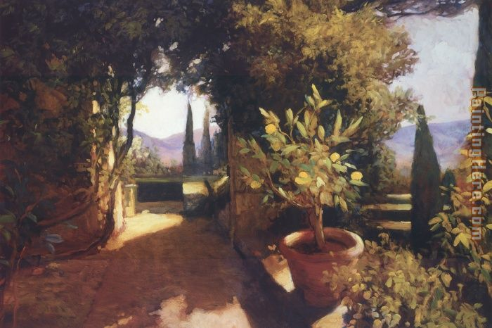 Lemon Tree Verona painting - Philip Craig Lemon Tree Verona art painting