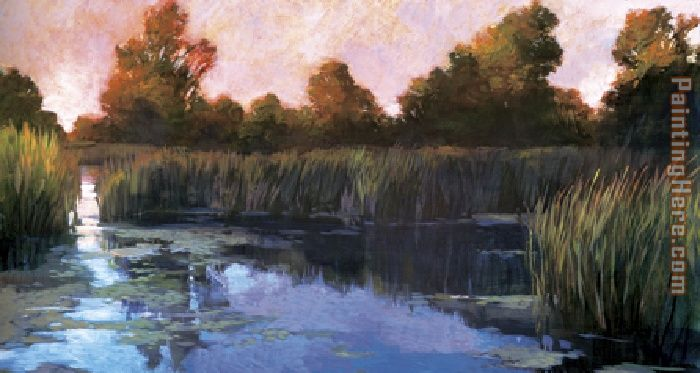 The Lily Pond painting - Philip Craig The Lily Pond art painting