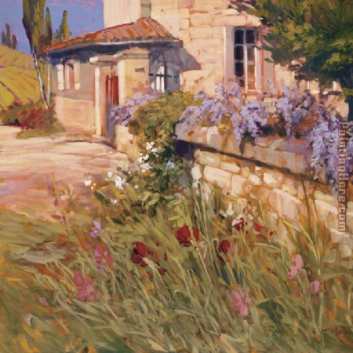 Philip Craig Wisteria Wall Art Painting