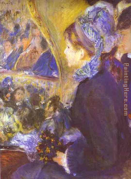The First Outing painting - Pierre Auguste Renoir The First Outing art painting