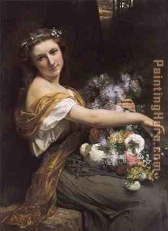 Dionysia painting - Pierre-Auguste Cot Dionysia art painting