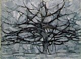 Gray Tree by Piet Mondrian