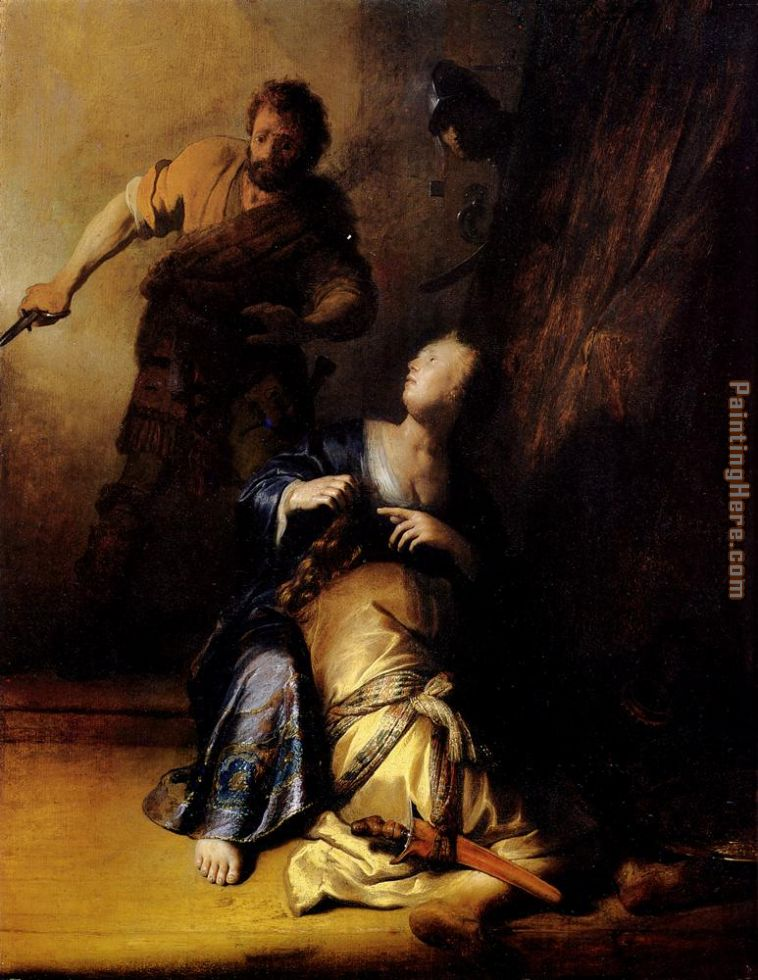 Samson And Delilah painting - Rembrandt Samson And Delilah art painting