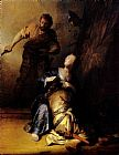 Samson And Delilah by Rembrandt