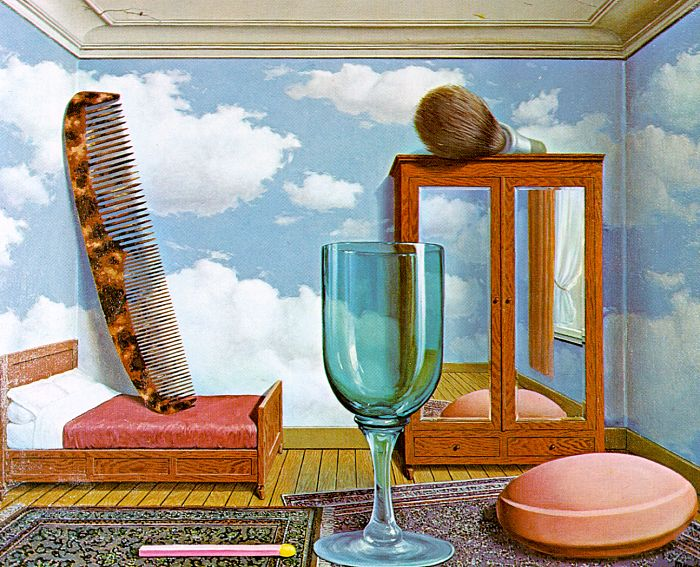Personal Values painting - Rene Magritte Personal Values art painting