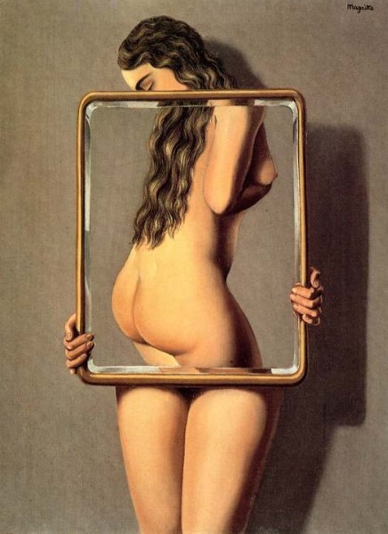The Dangerous Liaison painting - Rene Magritte The Dangerous Liaison art painting