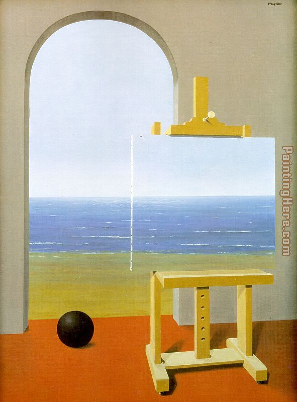 The Human Condition painting - Rene Magritte The Human Condition art painting