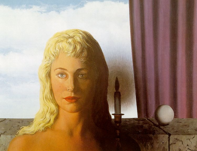 The Ignorant Fairy painting - Rene Magritte The Ignorant Fairy art painting