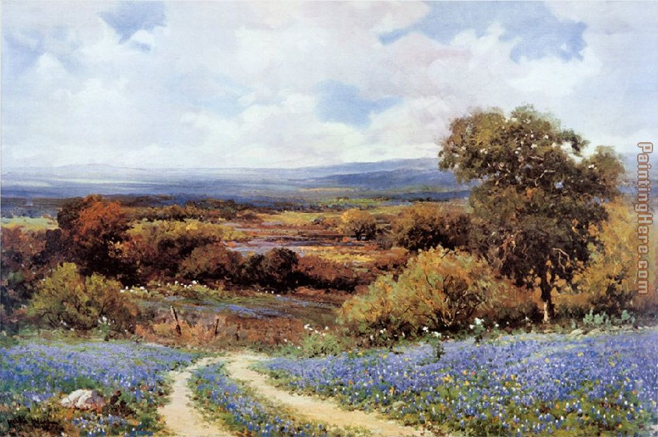 Texas Spring painting - Robert Wood Texas Spring art painting