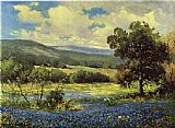 Fields of Blue by Robert Wood