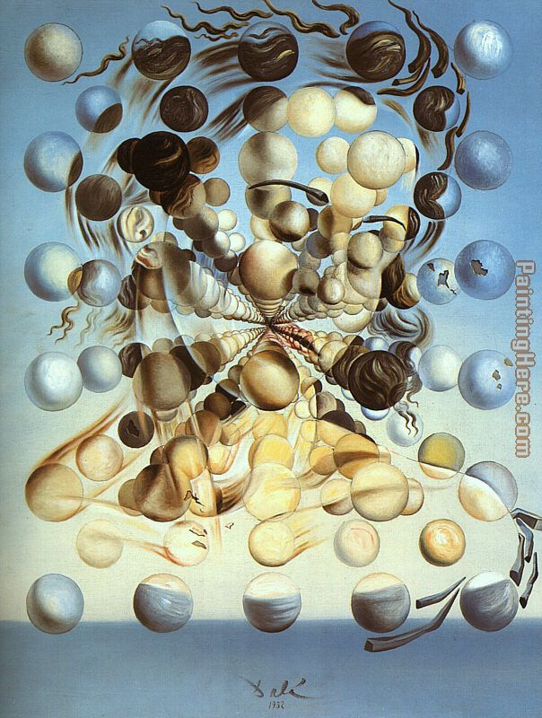 Galatea of the Spheres painting - Salvador Dali Galatea of the Spheres art painting