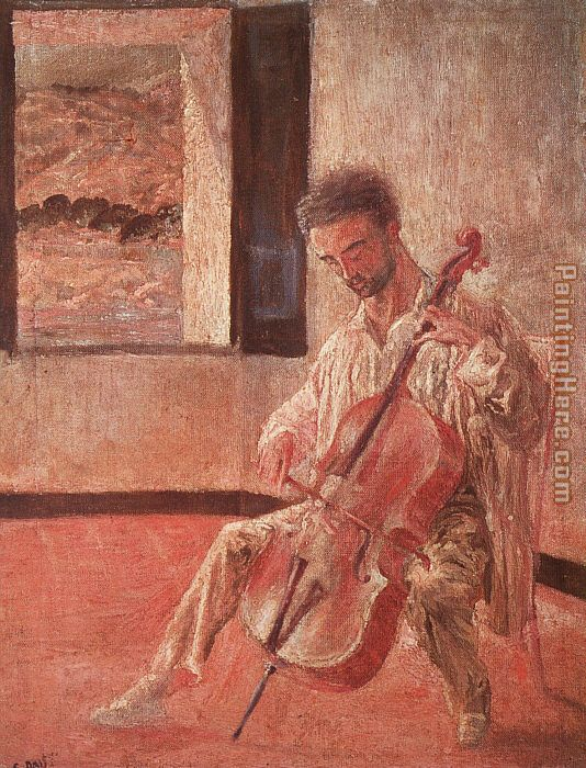 The Cellist Ricardo Pichot