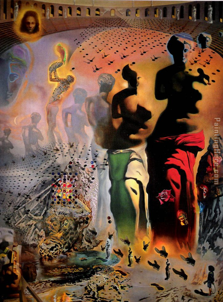 Salvador Dali The Hallucinogenic Toreador Painting anysize 50% off