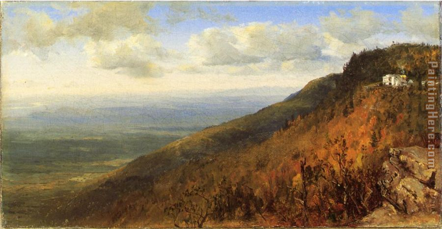 Sanford Robinson Gifford A Sketch from North Mountain, In the Catskills Art Painting