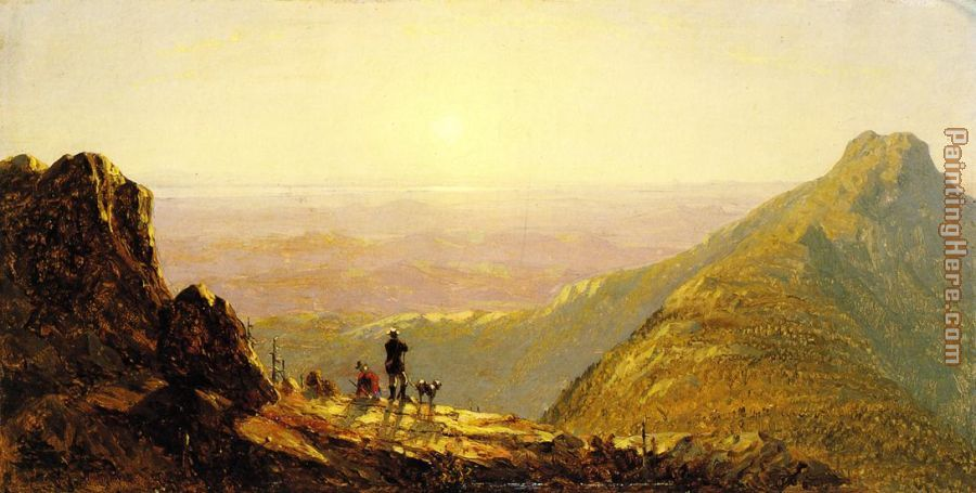 Mount Mansfield painting - Sanford Robinson Gifford Mount Mansfield art painting