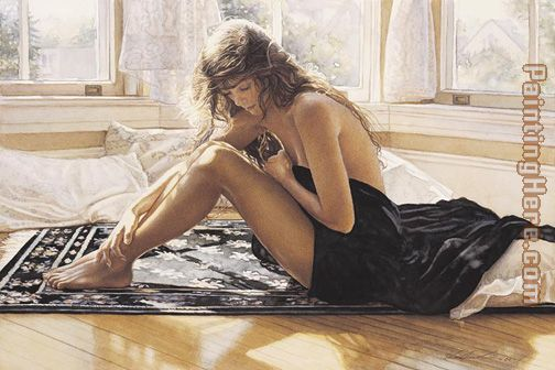 Comforting the Heart painting - Steve Hanks Comforting the Heart art painting