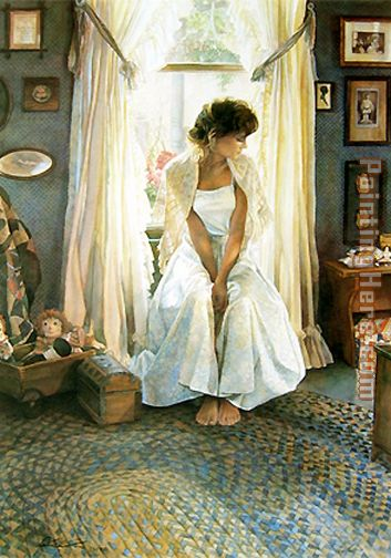 Country Home painting - Steve Hanks Country Home art painting