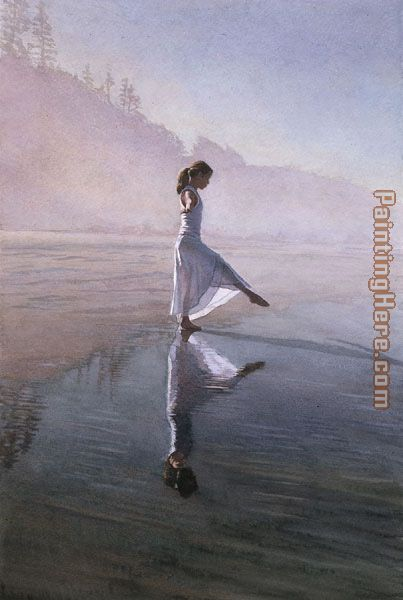 Dancing on the Shore painting - Steve Hanks Dancing on the Shore art painting