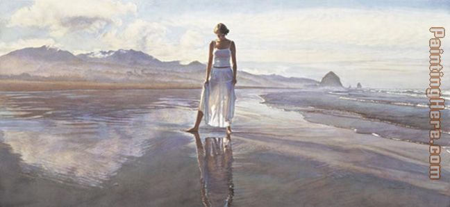 Finding Yourself in the World painting - Steve Hanks Finding Yourself in the World art painting