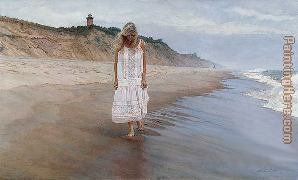 Gathering Thoughts painting - Steve Hanks Gathering Thoughts art painting