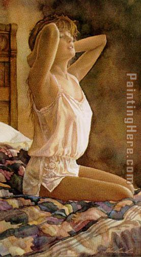 Steve Hanks In Her Dreams Art Painting