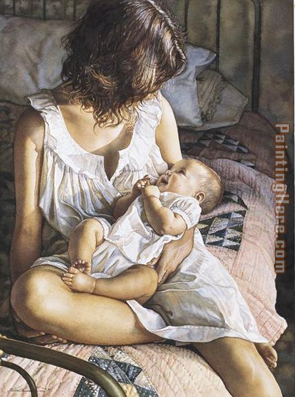 Steve Hanks In the Eyes of the Innocent Art Painting