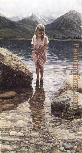 Natures Beauty painting - Steve Hanks Natures Beauty art painting