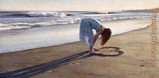 The Daughter of a Great Romance painting - Steve Hanks The Daughter of a Great Romance art painting