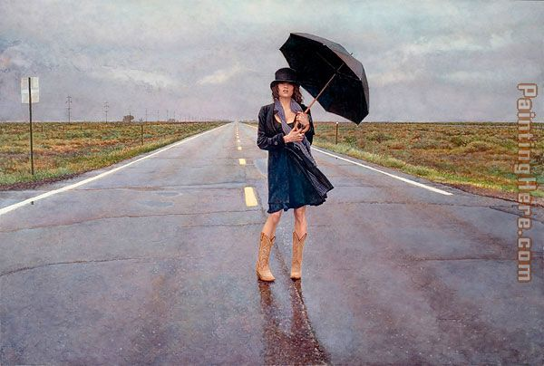 The Road Less Traveled painting - Steve Hanks The Road Less Traveled art painting