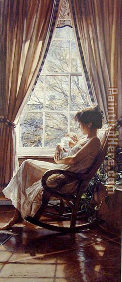 To Behold painting - Steve Hanks To Behold art painting