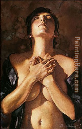 To Touch a Heart painting - Steve Hanks To Touch a Heart art painting