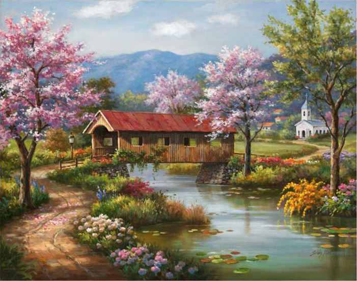 Image result for paintings of spring