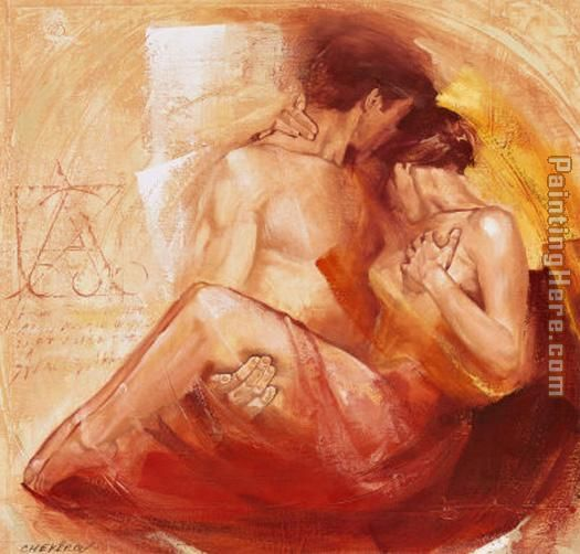 Tender Passion painting - Talantbek Chekirov Tender Passion art painting