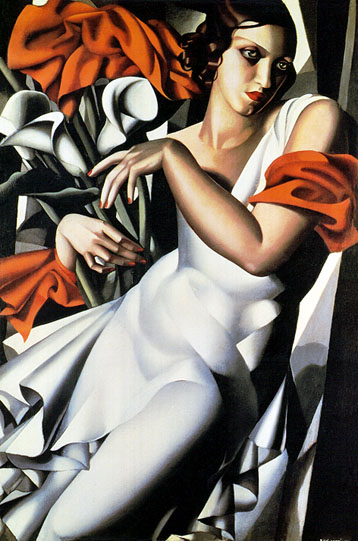 Portrait of Ira painting - Tamara de Lempicka Portrait of Ira art painting