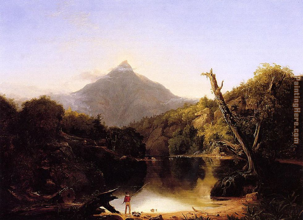 Mount Chocorua New Hampshire painting - Thomas Cole Mount Chocorua New Hampshire art painting