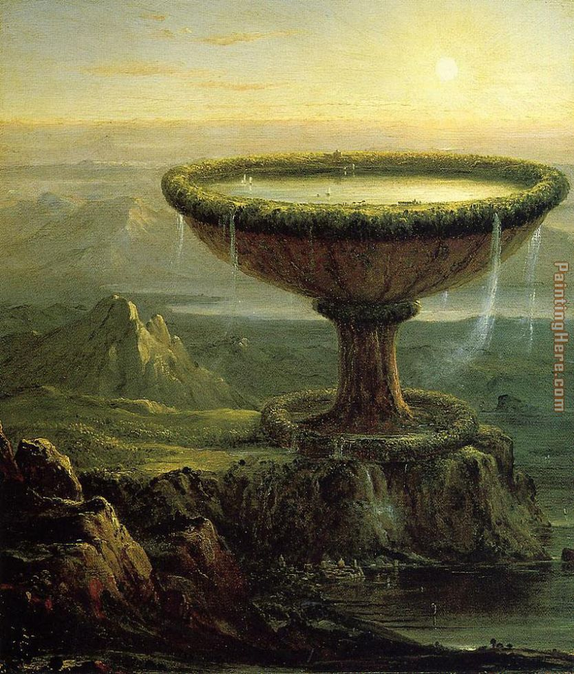 Thomas Cole The Titans Goblet Art Painting