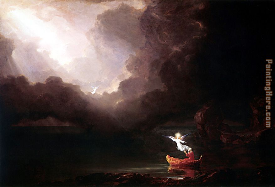 The Voyage of Life Old Age painting - Thomas Cole The Voyage of Life Old Age art painting
