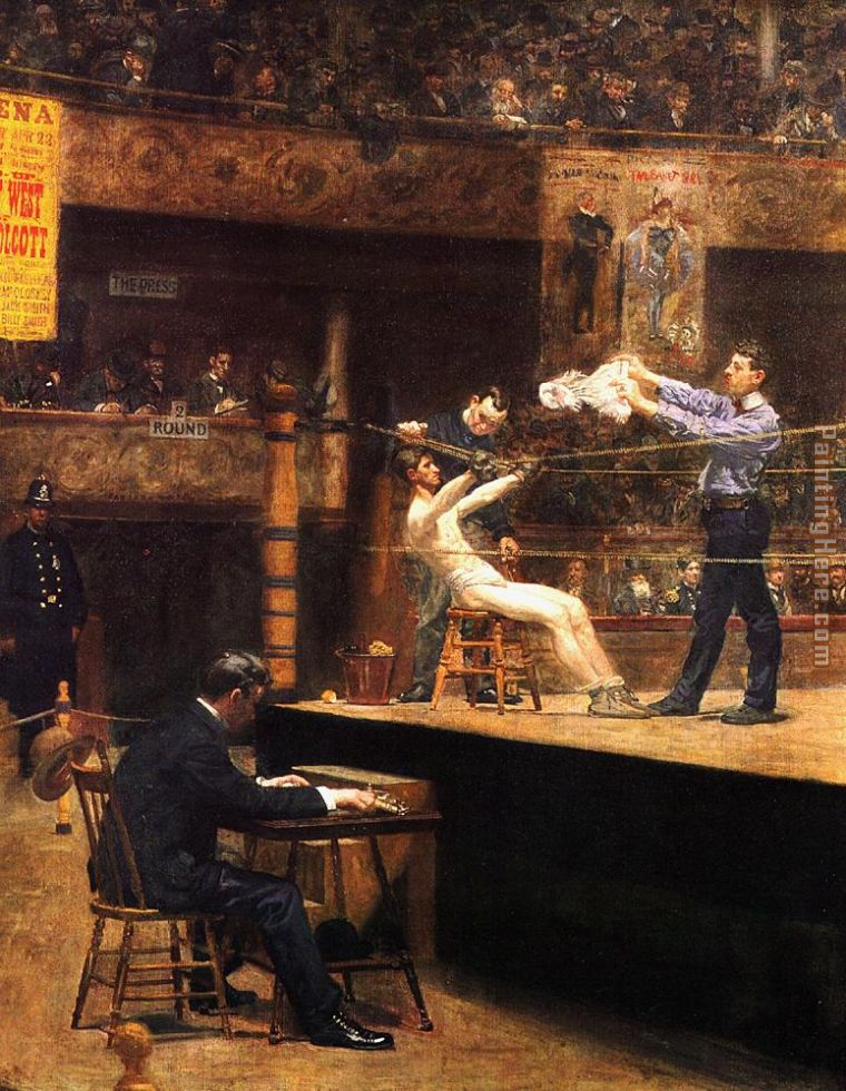 Thomas Eakins In the mid-time Art Painting