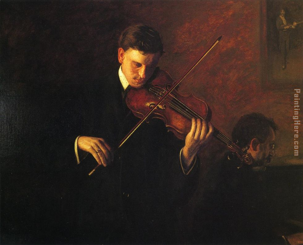 Music painting - Thomas Eakins Music art painting