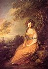 Mrs Sheridan by Thomas Gainsborough