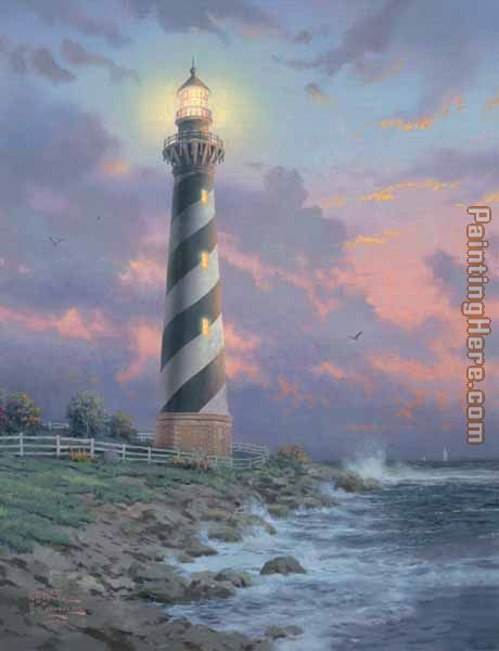 Cape Hatteras Light Painting