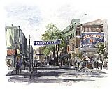 Yawkey Way by Thomas Kinkade