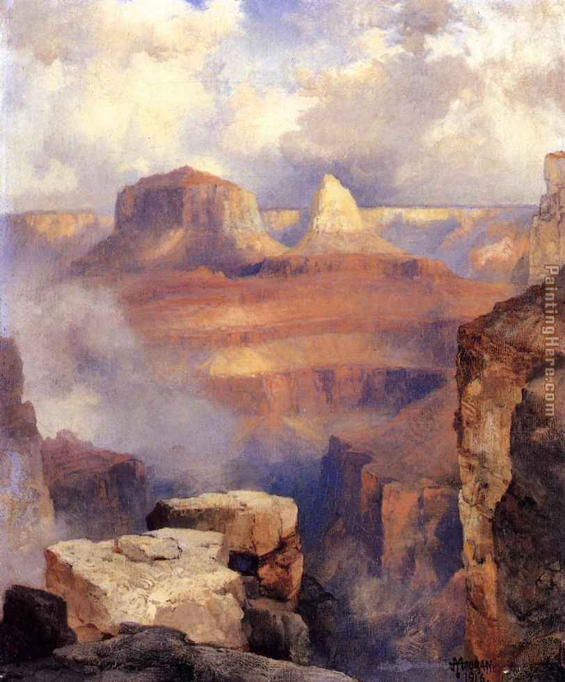 Grand Canyon painting - Thomas Moran Grand Canyon art painting