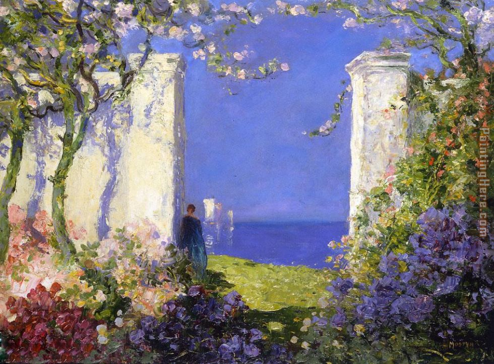 Tom Mostyn A Magical Morning Art Painting